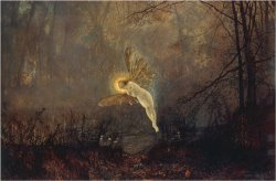 Midsummer Night Or Iris 1876 by John Atkinson Grimshaw
