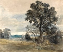 Landscape at East Bergholt by John Constable