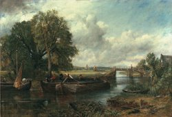 View of the Stour near Dedham by John Constable