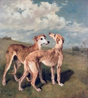 Greyhounds by John Emms