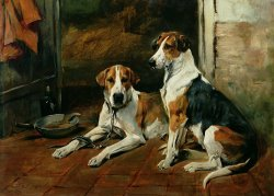 Hounds in a Stable Interior by John Emms