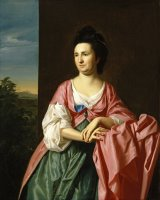 Mrs. Sylvester Gardiner, Nee Abigail Pickman, Formerly Mrs. William Eppes by John Singleton Copley