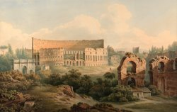 The Colosseum, Rome by John Warwick Smith