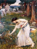 Gathering Rosebuds by John William Waterhouse
