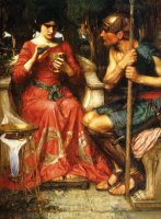 Jason And Medea by John William Waterhouse