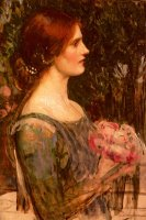 The Bouquet by John William Waterhouse