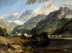 Bonneville, Savoy by Joseph Mallord William Turner