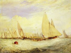 East Cowes Castle the Seat of J Nash Esq. the Regatta Beating to Windward by Joseph Mallord William Turner
