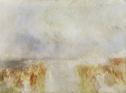 The Disembarkation of Louis Philippe at The Royal Clarence Yard, Gosport, 8 October 1844 by Joseph Mallord William Turner
