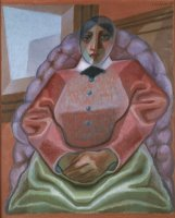 Woman in an Armchair by Juan Gris