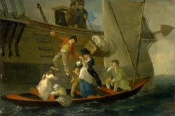 A Married Sailor's Adieu by Julius Caesar Ibbetson