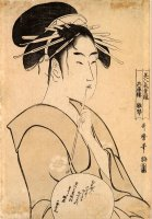 Hinakoto The Courtesan by Kitagawa Utamaro