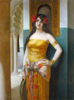 An Arab Beauty by Leon Francois Comerre