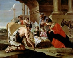 The Adoration of the Shepherds by Louis Le Nain