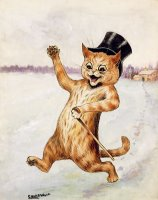 Top Cat by Louis Wain