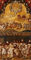 The Conquest of Mexico. Tabla Xix by Miguel Gonzales