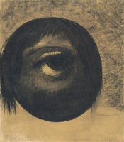 The Eye (vision) by Odilon Redon