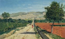 Landscape in Provence by Paul Camille Guigou