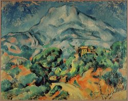 Montagne Sainte Victoire View From The South West by Paul Cezanne