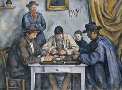 The Card Players 1890 1892 by Paul Cezanne
