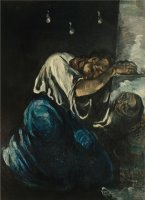 The Magdalen Or Sorrow by Paul Cezanne