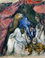 The Strangled Woman 1870 1872 by Paul Cezanne