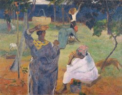 Among The Mangoes at Martinique by Paul Gauguin