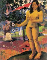Delightful Land (te Nave Nave Fenua) by Paul Gauguin