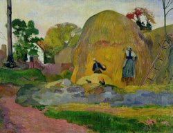 Golden Harvest by Paul Gauguin