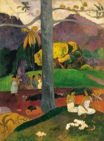 Mata Mua (in Olden Times) by Paul Gauguin