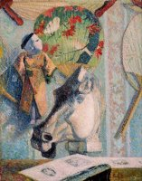 Still Life with Horse's Head by Paul Gauguin