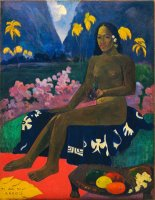 Te Aa No Areois by Paul Gauguin