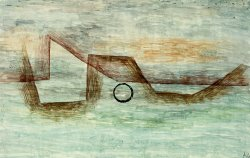 Flooding Uberflutung by Paul Klee