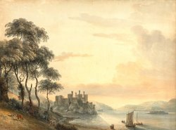 Conway Castle by Paul Sandby