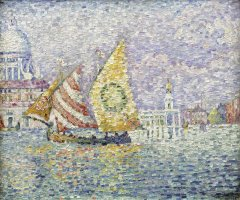 Bragozzo, Venice by Paul Signac