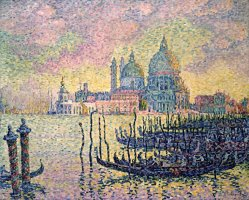 Entrance to The Grand Canal, Venice by Paul Signac