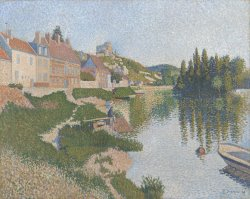 Les Andelys by Paul Signac