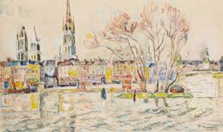 Rouen by Paul Signac