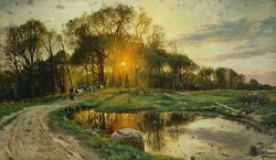 The Return Home by Peder Monsted