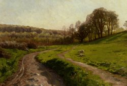 A Country Field by Peder Mork Monsted