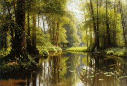 Vandlob I Skoven by Peder Mork Monsted