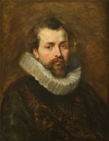 Philippe Rubens - the artist's brother by Peter Paul Rubens