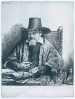 Arnold Tholinx by Rembrandt