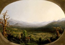 A View of Asheville, North Carolina by Robert Scott Duncanson