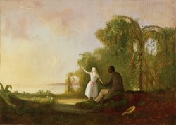Uncle Tom and Little Eva by Robert Scott Duncanson