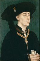 Portrait Of Philip The Good by Rogier van der Weyden