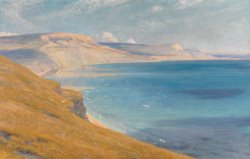 Sea and Sunshine Lyme Regis by Sir Frank Dicksee