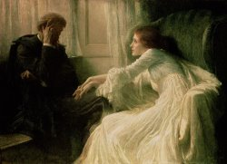 The Confession by Sir Frank Dicksee