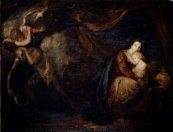 Recovery From Sickness, an Allegory by Sir Joshua Reynolds