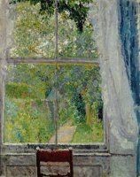 View from a Window by Spencer Frederick Gore